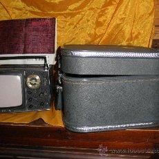 Radios antiguas: TELEVISOR SONY MICRO MODEL 5-303E CON MALETIN Y CON MANUAL DE INSTRUCCIONES EN INGLES.MADE IN JAPAN*. Lote 28862822