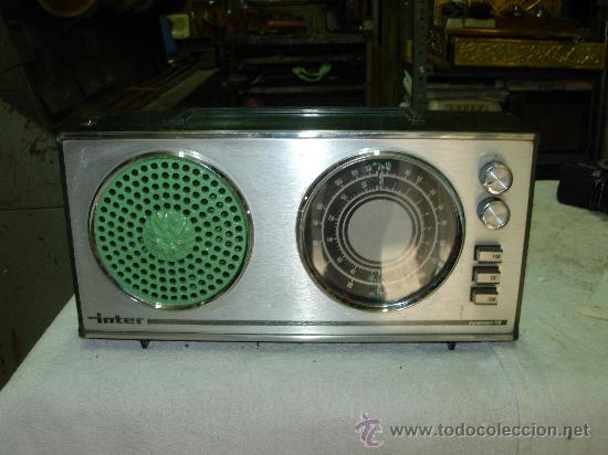 TRANSISTOR INTER (Radios, Gramófonos, Grabadoras y Otros - Transistores, Pick-ups y Otros)