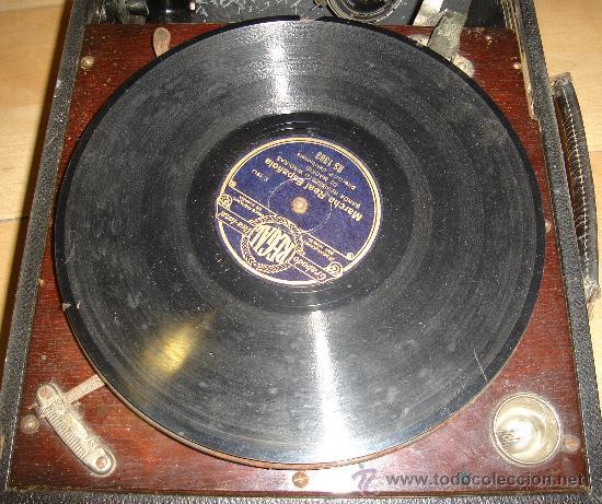 Radios antiguas: GRAMOFONO MAESTROPHONIC Nº13. AÑOS 40. CONTIENE AGUJAS DE REPUESTOS - Foto 5 - 104400691