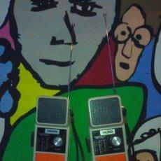 Radios antiguas: PAREJA DE WALKYTALKYS ANTIGUOS FUNCIONANDO PERFECTOS. Lote 29355351