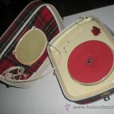 Radios antiguas: ANTIGUO TOCADISCOS. Lote 29393633