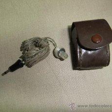 Radios antiguas: AURICULAR DE RADIO CON SU FUNDA. Lote 62059307