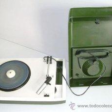 Radios antiguas: TOCADISCOS PHILIPS DE ÉPOCA, EN FUNCIONAMIENTO. Lote 29496584