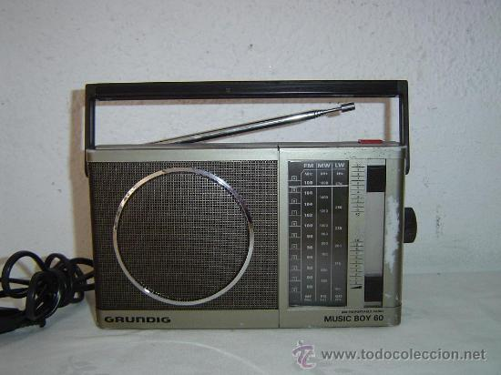 Radios antiguas: RADIO GRUNDIG MUSIC BOY 60 - Foto 1 - 29622065