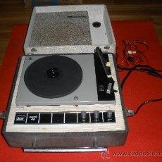Radios antiguas: GIRADISCOS DE GUATEQUE VANGUARD DUAL. EN FUNCIONAMIENTO,. Lote 29864331