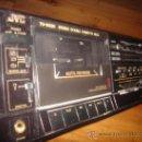 Radios antiguas: DOBLE PLETINA JVC, MODELO TD-W22E, FINALES DE LOS AÑOS 80, APARATO EN USO. Lote 56978648