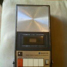 Radios antiguas: CASSETTE RECORDER SANYO MODELO M- 787A 125- 220V FUNCIONANDO. Lote 30364598