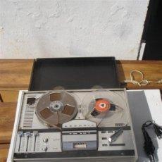 Radios antiguas: MAGNETOFONO GRUNDY CON MICROFONO. Lote 32569581
