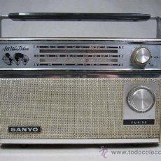 Radios antiguas: RADIO SANYO AÑOS 70. Lote 30715385