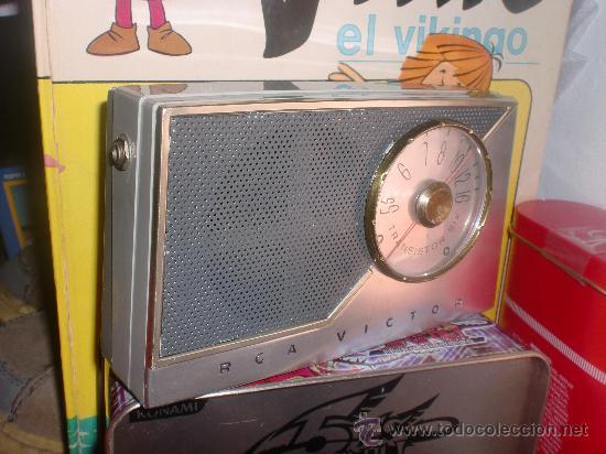 Transistor six rca victor made in u s a  pila m - Sold