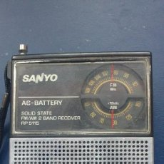 Radios antiguas: &-RADIO - SANYO(MODEL:5115). Lote 31327471