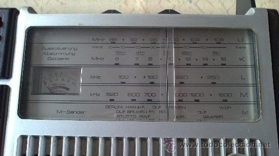 Radios antiguas: &-RADIO CASSETE- SABA-RCR 386.CLOCK(VOLLAUTOMATIC STOP SYSTEM) - Foto 6 - 225312715