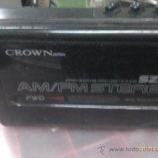 Radios antiguas: WALMAN CROWM CASETTE/RADIO AM/FM. Lote 31299858