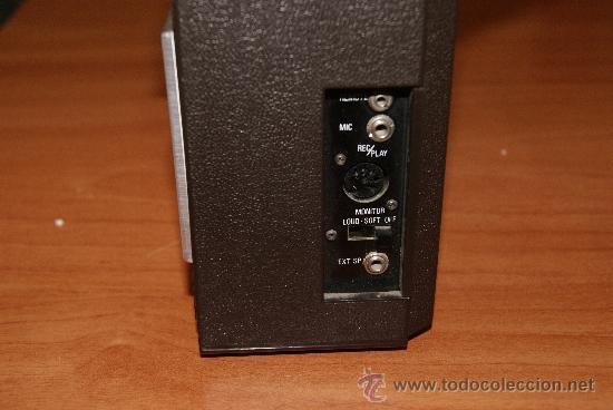 Radios antiguas: Radio Cassette Sanyo modelo MR-4112F años 70 - Foto 4 - 31692049
