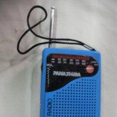 Radios antiguas: ANTIGUA RADIO TRANSISTOR PANASHIBA AM/FM CON NUEVA. Lote 31705595