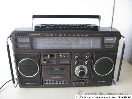 GRUNDIG RR 1140 PROFESSIONAL: RECEPTOR DE RADIO MULTIBANDA CON CASSETTE (Radios, Gramófonos, Grabadoras y Otros - Transistores, Pick-ups y Otros)