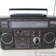 Radios antiguas: GRUNDIG RR 1140 PROFESSIONAL: RECEPTOR DE RADIO MULTIBANDA CON CASSETTE. Lote 31837663
