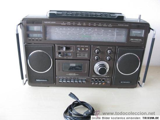 Radios antiguas: GRUNDIG RR 1140 PROFESSIONAL: RECEPTOR DE RADIO MULTIBANDA CON CASSETTE - Foto 3 - 31837663