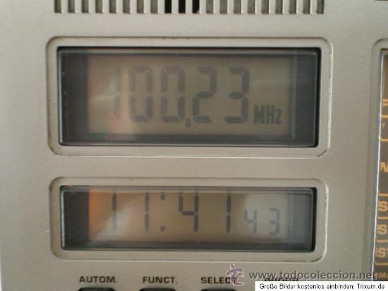 Radios antiguas: GRUNDIG RR 1140 PROFESSIONAL: RECEPTOR DE RADIO MULTIBANDA CON CASSETTE - Foto 4 - 31837663