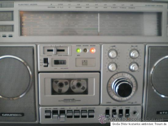 Radios antiguas: GRUNDIG RR 1140 PROFESSIONAL: RECEPTOR DE RADIO MULTIBANDA CON CASSETTE - Foto 5 - 31837663