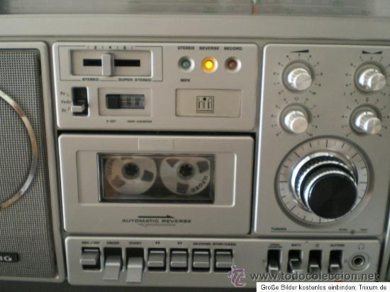 Radios antiguas: GRUNDIG RR 1140 PROFESSIONAL: RECEPTOR DE RADIO MULTIBANDA CON CASSETTE - Foto 9 - 31837663