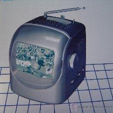 Radios antiguas: PEQUEÑA RADIO TV. PORTATIL A EXTRENAR (REBAJADA). Lote 31881373