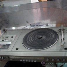 Radios antiguas: GRAN EQUIPO COMPACTO PANASSONIC 4 EN 1, CON AMPLIFICADOR, SINTONIZADOR, CASSETTE Y TOCADISCOS. Lote 31922259