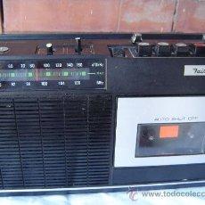 Radios antiguas: RADIO CASSETTE FAIR MATE - JAPONES. Lote 32194164