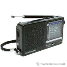 Radios antiguas: TRANSISTOR INTERNATIONAL DE LOS 80, ANTIGUO STOCK DE TIENDA. Lote 32881162