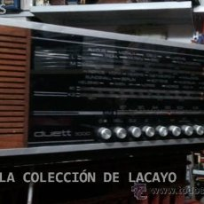 Radios antiguas: ANTIGUA RADIO RADIONETTE DUETT 3000 AÑOS 71/73 FUNCIONANDO MULTIBANDA. Lote 32300673