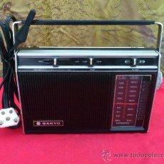 Radios antiguas: RADIO SANYO MODEL RP5311. FUNCIONA.... Lote 32538630
