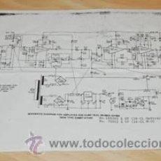 Radios antiguas: ESQUEMA DEL PROYECTOR DE CINE 16 M/M ELMO 16 CL. Lote 28795970