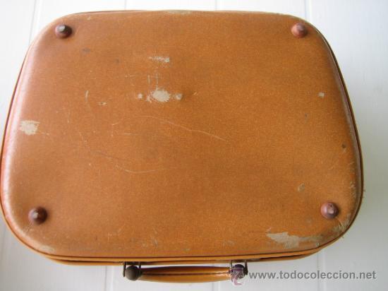 Radios antiguas: Tocadiscos de maleta TEPPAZ Oscar Senior. Made France años 50 o 60. Funciona - Foto 8 - 54317938