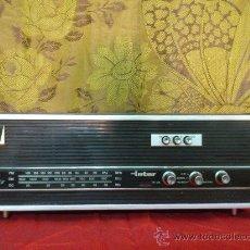 Radios antiguas: VINTAGE TRANSISTOR . RADIO INTER EUROMODUL 70. FUNCIONANDO.... Lote 33079857