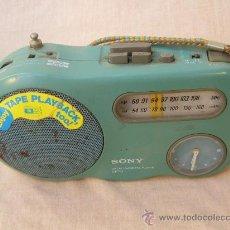 Radios antiguas: SONY RADIO CASSETTE PLAYER CFT-1. Lote 33145048