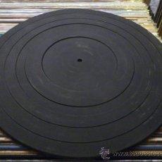 Radios antiguas: ALFOMBRILLA O BASE DE PLASTICO PARA TOCADISCOS . . Lote 33266229
