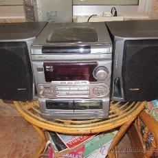 Radios antiguas: EQUIPO AIWA MODELO NSX-530- CON ALTAVOCES- RADIO - DOBLE CASETE Y CD3. Lote 33352795
