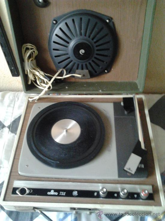 Radios antiguas: Tocadiscos cosmo ver descripcion - Foto 2 - 101638170