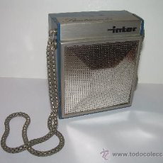Radios antiguas: ANTIGUA Y BONITA RADIO...INTER...SLIMTRANSCOLOR...(FUNCIONA PERFECTAMENTE).. Lote 33578682