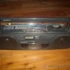 Radios antiguas: RADIO CASSETE SONY, AÑOS 90, MODELO CFS-203L. Lote 33687673