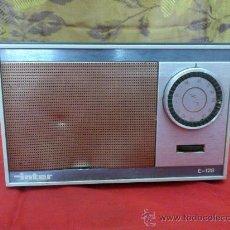 Radios antiguas: & RADIO. ANTIGUO TRANSISTOR INTER MODELO E-128. AM. FUNCIONA.. Lote 33695627