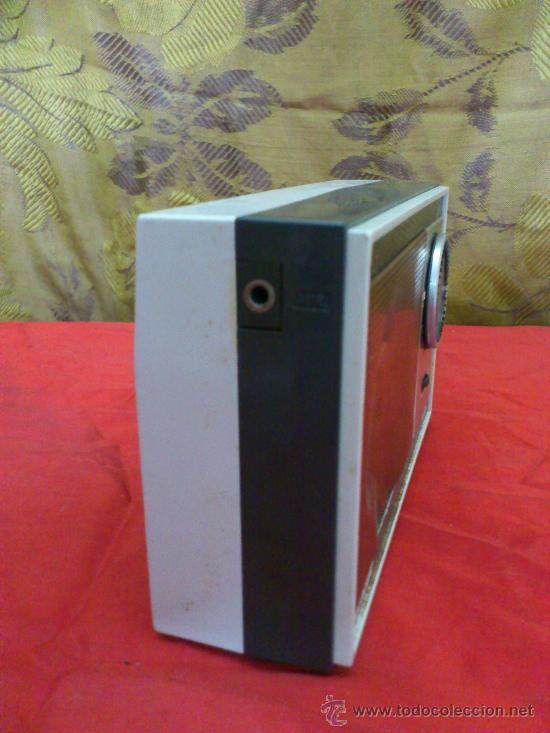 Radios antiguas: & RADIO. ANTIGUO TRANSISTOR INTER MODELO E-128. AM. FUNCIONA. - Foto 2 - 33695627