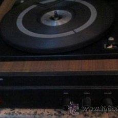Radios antiguas: PLATO TOCADISCOS COSMOS. Lote 34146343