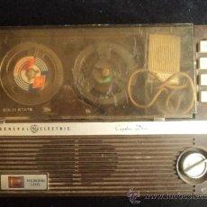 Radios antiguas: MAGNETOFONO GENERAL ELECTRIC. CAPTAIN DRIVE. SIN CHEQUEAR. TAL COMO SE VEN FOTOGRAFIAS.. Lote 34246947