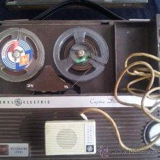 Radios antiguas: MAGNETOFONO GENERAL ELECTRIC. CAPTAIN DRIVE. SIN CHEQUEAR. TAL COMO SE VEN FOTOGRAFIAS.. Lote 34738107