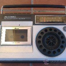 Radios antiguas: RADIO CASSETTE ALCONIC CR;2838-3-FUNCIONA A PILAS.. Lote 34955030