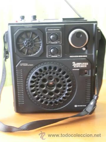 Antigua radio sanyo - ac dc dynamic jet sound - - Sold