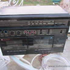 Radios antiguas: EQUIPO MUSICA RADIO Y CASETE DAEWOO ARW-420, AÑOS 80. Lote 35049358