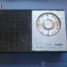 Radios antiguas: RADIO TRANSISTOR AIWA ANTIGUA . Lote 35123422