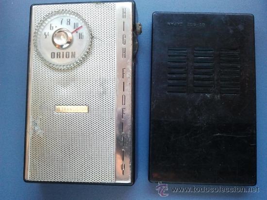 RADIO TRANSISTOR ORION ANTIGUA (Radios, Gramófonos, Grabadoras y Otros - Transistores, Pick-ups y Otros)